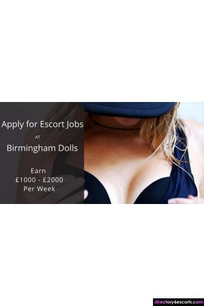 September Birmingham Escort Jobs | Birmingham Dolls Escort Agency