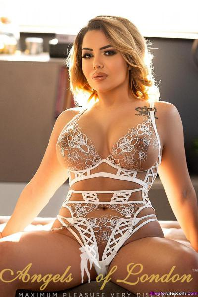 This busty blonde could really spice up your love-life!