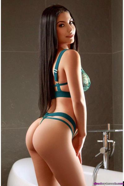 Amora high-class busty brunette escort
