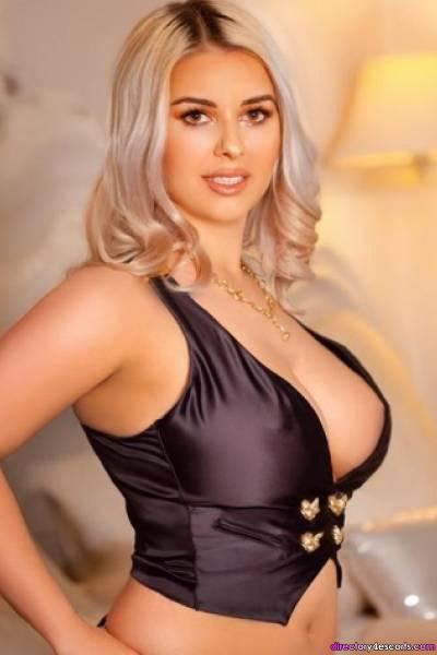 Heaven high-class busty blonde escort